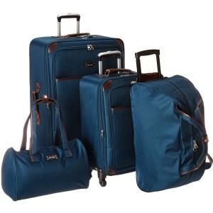 Ninewest 5 Piece Round Trip Designer Luggage Set