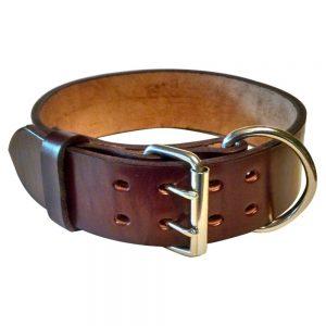 Pitbull Leather Dog Collar