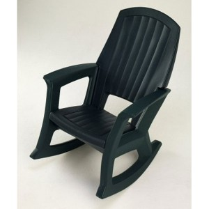 Plastic Rocking Chair by Semco Plastic Co