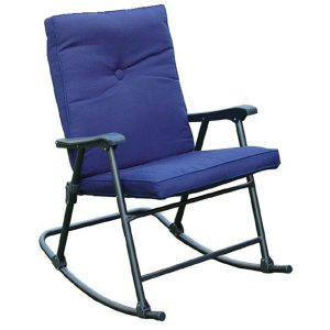 Prime Products La Jolla California Rocking Camp Chair