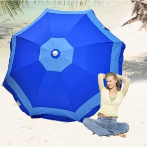 Rio Brands 6-Feet Beach Deluxe Sunshade Umbrella