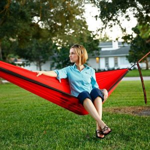 Simple Life Outfitters Premium Backpacking Hammock with Tree Straps