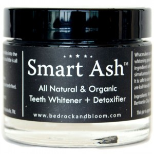 Smart Ash Organic All Natural Whitening Tooth Powder