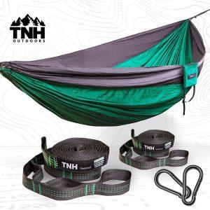 TNH Outdoors Premium Camping Hammock With Bonus Straps