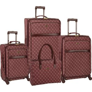 Travel Gear Signature Spinner 4-Piece Luggage Set